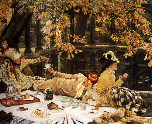 """The Picnic"" by Tissot"