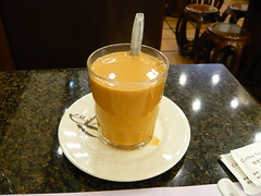 2日目朝食(Milk Tea)
