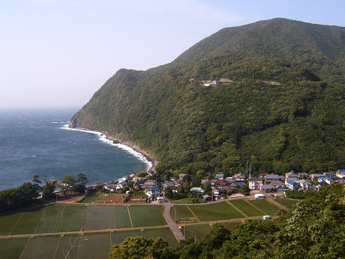 Village by the sea Izu Shizuoka beautiful