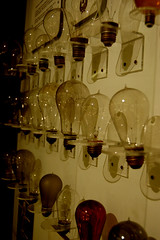 Beautiful Bulbs 2 (Curious Expeditions) Tags: electric museum budapest lightbulbs science electro curious carbon mad buda pest filament scientist voltage madscientist expeditions electrostatic electrotechnical dylanthuras michelleenemark curiousexpeditions
