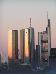 Deutsche Bank, Maintower und Commerzbank