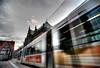 Bremen HDR (davidharding) Tags: germany tram bremen rathaus hdr bsag