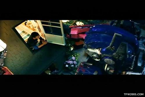 Pelicula de Transformers: Optimus Prime y casa de Sam