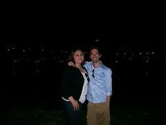 me and roo roos at lake michigan