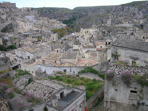 Caves in Matera- Italy