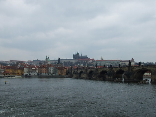 Suzy Tours says: And here ends the tour with a view of the Charles Bridge.