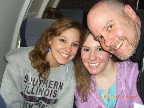 Bowens on a plane.