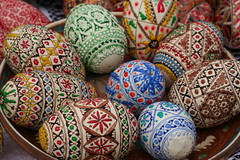 Romanian Easter Flower - Paste Fericit! (romaniashots) Tags: easter paste traditions romania eggs orthodox palmsunday paintedeggs interestingness74 i500 romaniashots impressedbeauty pastefericit
