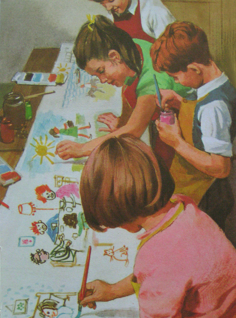 ladybird 'fun & games' - children's painting