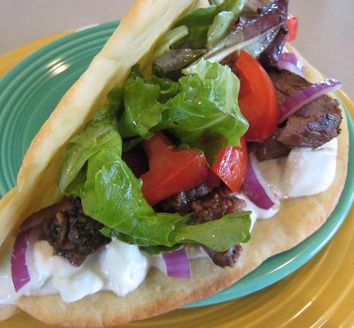 Lamb Pita Sandwich