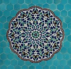 Arabesc, Mesquita del Divendres, Yazd (Sebasti Giralt