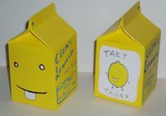 Clem's Lemonade carton