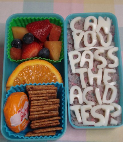 """Acid Test"" bento by Sakurako Kitsa, on Flickr"