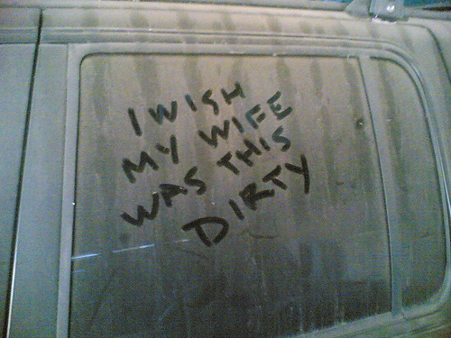 I wish my wife was this dirty