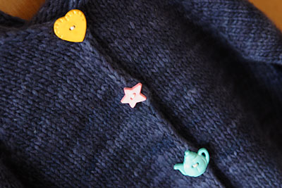 Whimsical buttons