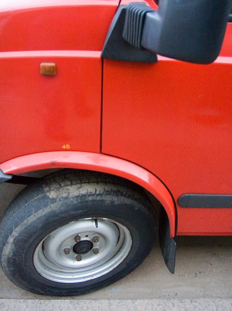 A History of Wheel 2 Of Van 45
