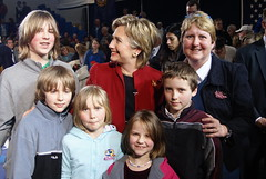 Hillary and our family