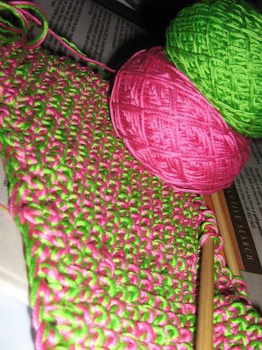seed yarn cakes