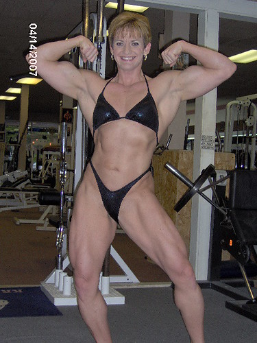 Kim Bergman - GeneX and Andy's Muscle Goddesses