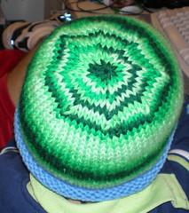 spiral hat - top