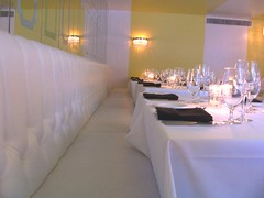 Citron dining room