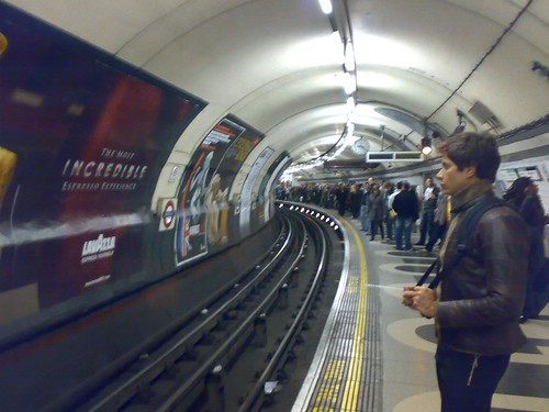 Curving Tube by Luke Hopkins