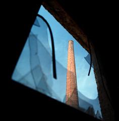Memorial without Smoke (Vincnt) Tags: abandoned 6x6 zeiss hasselblad squareformat czechrepublic agfaoptima100 vincentvega 500cm canoscan9950f colorphotoaward isawyoufirst vincnt lihovar graindistillery distagoncf504tfle
