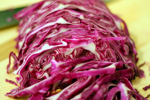 red cabbage for slaw