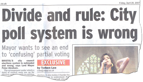 Divide and rule...