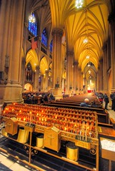 St Patrick's Cathedral interior (iceman9294) Tags: wood nyc newyorkcity sculpture architecture nikon bravo candles catholic candle cross religion pray praying gothic stpatrickscathedral offering meditation marble fifthavenue pew altars chriscoleman stainedglasswindows supershot abigfave nikond80 3xphandheld impressedbeauty ultimateshot superbmasterpiece diamondclassphotographer flickrdiamond superhearts iceman9294