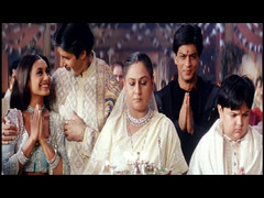 Happy family (Indari) Tags: family blue white black smile actors indian traditional clothes bollywood khan saree sari amitabh jaya shahrukh hindi bachchan srk rani mukherjee bindi happyfamily namaste kurta bigb khushi kingkhan namaskar gham k3g mukerji mukherji cinem kabhie khabhi queenofbollywood badhuri