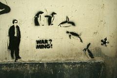 Penguins (SpUtNik 23 -RUR und MKZ) Tags: street brussels streetart art penguin stencil bruxelles pochoir bxl