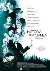 Póster y trailer en castellano de 'Historia de un crimen'