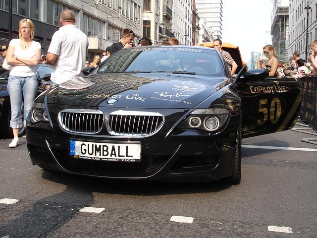 london start bmw m6 gumball 2007