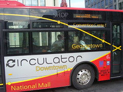 DC Circulator, 9th and H Street NW