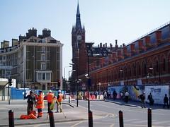 St Pancra's station