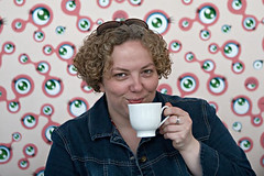Your Coffee-tasting Tea is Served (|Shrued) Tags: chicago meetup yourwaitress valeriejcochran nap2007