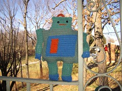 this is my knit robot