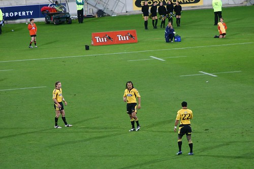 Wellington Hurricanes against the Waratahs (5th May 07)