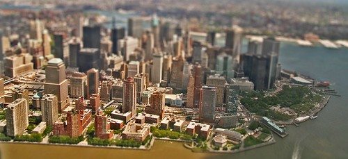 Miniature Model of Lower Manhattan (including Ground Zero)