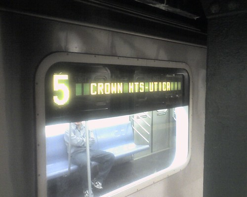 A Crown Heights Bound 5 Train