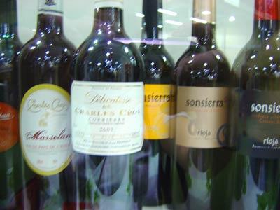 Vinhos na Expo Vinis