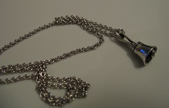 Handbell necklace