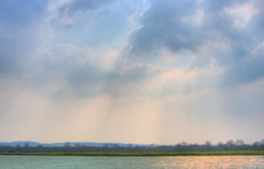 England, Bedfordshire: Reservoir (Tim Blessed) Tags: sky nature water landscape countryside sc