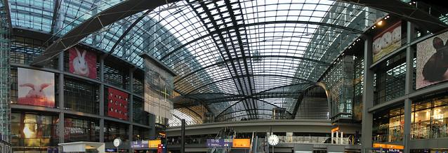 Berlin Hauptbahnhof panorama 1