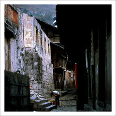 37-423   Chongqing Gongtan (boochap) Tags: china town communist hasselblad  rivertown        culturerevolution