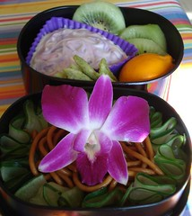 orchid bento