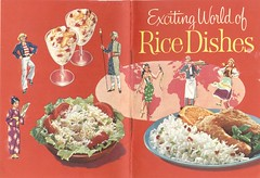 Exciting World of Rice Dishes (Cowtools) Tags: vintage ephemera recipebooklet