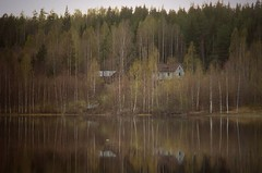keihäsjärvi farm (northmanimages) Tags: trees nature water suomi finland landscapes lakes farms waterscapes kuru specnature