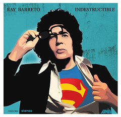 Ray Barreto - Indestructible (Androt) Tags: records design colombia long ray play vinyl stereo lp salsa diseo medellin vinilo barreto indestructible illustracion fania androt